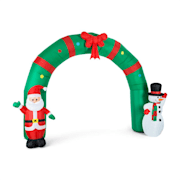 Merry Welcome Christmas Inflatable Decoration Gate 250 cm LED
