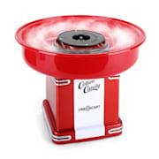 Candyland 2, 500 W, červený, retro prístroj na prípravu cukrovej vaty