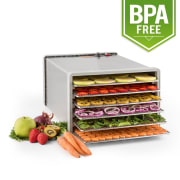 Fruit Jerky Pro 6 Droogautomaat Dehydrator 630W 6 Etages Roestvrij staal 6 stages