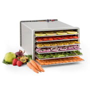 Fruit Jerky Steel 6 Automatic Food Dehydrator Dryer 630W 6 Floors Stainless Steel 6 stages