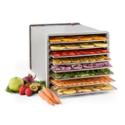 Fruit Jerky Pro 8 Droogautomaat Dehydrator 630W 8 Etages Roestvrij staal 8 stages