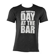 T-shirt treningowy męski rozmiar XL czarny Czarny | XL