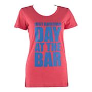 majica za trening, ženska, veličina XL, crvena boja Crvena | XL