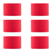 Bondies, kineziologická páska, 6 roliek, 5 cm široká, 5 m dlhá, elastická Červená
