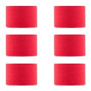 Bond, kineziologická páska, 6 rolí, 5 cm široká, 5 m dlouhá, elastická Červená