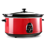 Bristol 65 Slow Cooker 6.5 Litre 300W Red Red