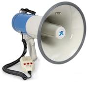 MEG060 Megafon 60W inspelningsfunktion siren USB SD AUX inkl. bälte