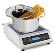 KLARSTEIN INDUUK, indukcijska ploča za kuhanje, Ø 22 cm 500-3500 W, catering, nehrđajući čelik