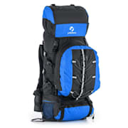 Almer, modrá/čierna, trekingový ruksak, 80 l, 40 x 80 x 35 cm, malý batoh Modrá