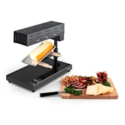 Appenzell 2G traditionel Raclette Grill 600 W Ståanordning svart
