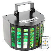 Butterfly II LED Mini Derby, 6x3W, RGBAWP, IR