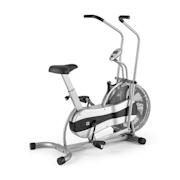 Stormstrike 2k Crosstrainer Exercise Bike Ergometer up to 120 kg Silver Silver