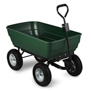 Green Elephant Garden Wagon Trolley 125 l 400 kg Tiltable Green Green