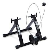 """Tourek, черен тренажор, колело,ротопед, домашен тренажор, 26/28 """", 100 kg, стомана, черен Черно"""