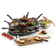 Woklette Table Grill Raclette Wok-Set 1200 W 8 People Non-stick