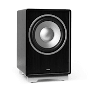 "RetroSub - Subwoofer Attivo 25,4 cm (10"") Nero nero 