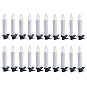 Eternal Flame 20 LED božićna svjetla, topla bijela, daljinskoupravljanje