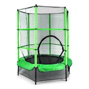 Rocketkid Trampolino Elastico Rete Sicurezza Verde140cm verde