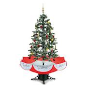 Everwhite-BK 180cm, rdeč, božično drevo simulacija snega