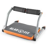 Abhatch AB Core Trainer Aparelho de abdominais Treino Allround cinza / laranja Cor de laranja