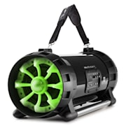 Soundstorm 2.0 Stereo Ghettoblaster Bluetooth 40W RMS USB AUX MIC/GIT verde