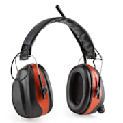 Jackhammer BT căști de protecție împotriva zgomotului radio FM Bluetooth 4.0 Intrare AUX SNR 28dB Roșu