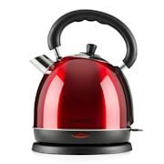 Teatime Electric Kettle Tea Kettle 1850 W 1.8L Stainless Steel Ruby Red Red