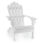 Vermont, бял, градински стол, градински кресло, adirondack, 73x88x94cm, сгъваем