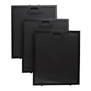 Aluminium-Fettfilter 26,5 x 31cm Austauschfilter Ersatzfilter schwarz