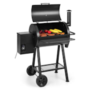 The Boss Pellet Grill Smoker Convection Grill 250 ° C max. 260W Black