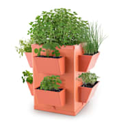 Herbie Hero Herp Pot Plant Pot 8 Plant Trays PP Terracotta