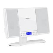 V14, sistem stereo vertical, CD, MP3, FM, AUX, alb Alb