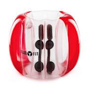 BUBBALL KR, BUBBLE BALL, DĚTSKÝ, 75X110 CM, EN71P, PVC, ČERVENÁ Červená | 110 cm