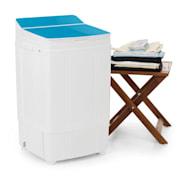 Ecowash Deluxe 4 Waschmaschine 290W 4kg Timer Schleuderfunktion blau