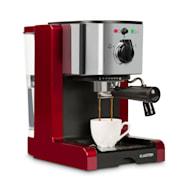 Passionata Rossa 15, eszpresszó kávéfőző, 15 bar, kapucsínó, tejhab, piros Piros