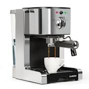Passionata 20 machine à expresso 20 bars capuccino mousse de lait gris argent Argent
