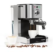 Passionata 20 aparat za espresso, 20 bar, cappuccino, mlečna pena, srebrna barva Srebrna