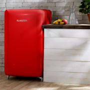PopArt-Bar Rot lodówka 136l retro 3 poziomy szuflada na warzywa A+ czerwona Czerwony
