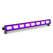 BUV93, LED bar, čierne svetlo, svetelná lišta so spínačom, 8 x 3 W, UV LED