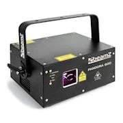 Pandora 600 Show-Laser TTL RGB MIC DMX ILDA activación por sonido Master/Slave 400mW