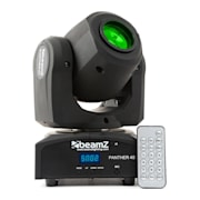 Panther 40 LED Spot Moving Head 45W 7-Gobos 7 Colour DMX IR Remote Control