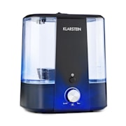 Toledo ultrazvočni vlažilec zraka, aroma difuzer, 6l, LED luč, črna barva Črna
