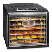 Fruit Jerky Plus 6, uređaj za sušenje voća, timer, 6 polica, lim, 420-500 W, nehrđajući čelik 6 faza