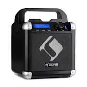 BC-1, караоке система, блутут, батерия, дръжка, USB, AUX вход, черен