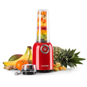 Vitwist Frullatore Verticale 250W 0,45L Smoothie Rosso rosso