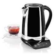 GULLIVER, ceainic, 2200 W, 1,7 l, funcția de menținere a temperaturii, culoare neagră Negru