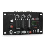 DJ-21, dj-mixer, pult de mixaj, usb, negru