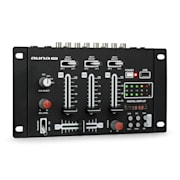 DJ-21 DJ-mixer keverő pult, USB, fekete