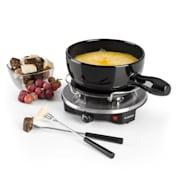 Sirloin raclette met fondue keramische pan 1200W zwart