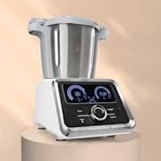 GrandPrix kuhinjski aparat, 500W / 1000W, posuda za miješanje 2,5l od nehrđajućeg čelika, bijela boja